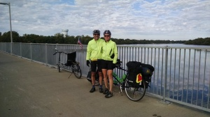 Peter and Tracy at Coon Rapids Dam - Coon Rapids, MN