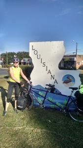 Entering Louisiana - Vidalia