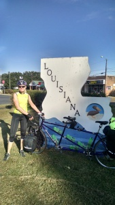 Entering Louisiana - Vidalia