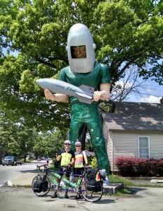 Gemini Giant - Wilmington, IL