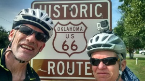 Route 66 Sign in Oklahoma