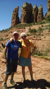 Greg and Tracy at Cathedral Rock